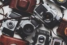 vintage cameras. / COLLECTION OF VINTAGE CAMERA IMAGES / by Elissa Ribant
