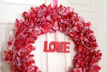 Valentines Day / Valentine's Day with lots of heart crafts, Valentine's Day decorations, Valentine's Day recipes and Valentine's Day DIY decor