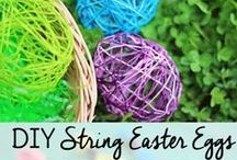 Easter / Easter recipes, crafts, diy projects, egg decorating, party ideas, activities for kids, and inspiration.