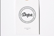 BRANDING / branding, packaging, identity, fonts, etc.