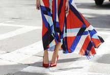 STREET STYLE / looking pretty on the streets of the world.