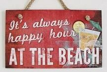 Happy Hour / Recipes for cocktails and other beverages that have been provided to or collected by Elegant Island Living Magazine.