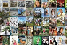 The Covers / Elegant Island Living covers through the years.