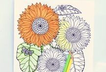 ✽ Colour / Colour, color, just colour. And lots of it.