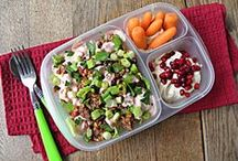 School Lunch Ideas for Kids / No more boring brown bag lunches! Simple, fun, healthy and delicious ideas for your child's school lunch box.