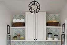 Laundry Room Inspiration / by Kathleen @ Yankee Homestead