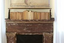 Fireplace Inspiration / by Kathleen @ Yankee Homestead