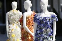 Flowers and dresses / You get inspired, we've got the flowers!. Your dresses and event with beautiful flowers!