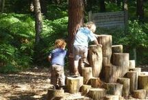 ✽  Play Gardens / Creating exciting, educational, and interesting natural playscapes for children to experience the garden.