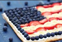 Patriotic Desserts / Red, White and Blue Patriotic Desserts / by Laura and Angela