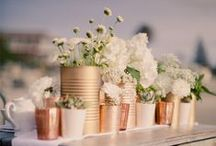 Tin Can Creations / How easy it is to go from a soup to a beautiful flower arrangement, well on this board you will find it. Tin cans can be as versatile as mason jars but more inexpensive and breakage free.