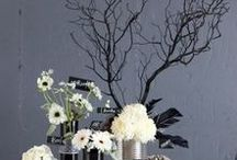 Flowers Are The New Black / Black flowers - natural, dyed and painted