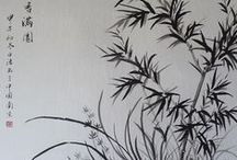 _My Paintings - Chinese Ink Painting / Here you can find my paintings!  All of them are painted with ink on rice paper in the Chinese free style technique Xie Yi. Enjoy it. All my paintings are for sale! Check my website http://birgit-moldenhauer.pixels.com/index.html