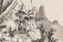 Chinese Art - Shan Shui - Landscape Free Style / Chinese Shan Shui Paintings