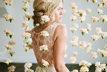 Blooming Backdrops / Beautiful blooming backdrops that can be incorporated into all kinds of events.