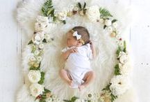 Babies and Flowers