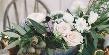 Eucalyptus Inspiration / Eucalyptus is the perfect year-round green for ultra chic centerpieces, wedding bouquets, and table runners. Shop our wholesale greens and save! https://bloomingmore.com/products/eucalyptus-natural