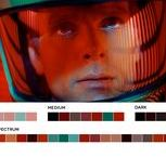 Colour Palette / Your colour palette from movies and graphics for your new design and illustration project