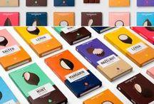 Packaging / inspiration, design, colours, forms, palette, logos, proportions