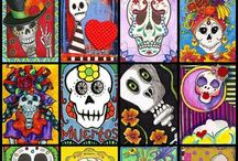 Art-Day of the Dead / by Holly Ransome