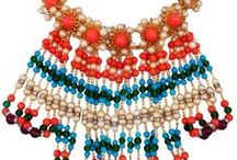 Statement Necklaces / A subordinate or supplementary items that contributes to an effect or desirable effect  / by Crisa Gloria Eduardo