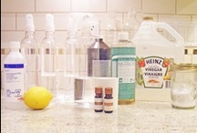 DIY Cleaning Ideas / by Stephanie Alvarez @ Quarter Incher