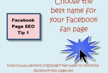 SEO for Facebook / by Peg Corwin