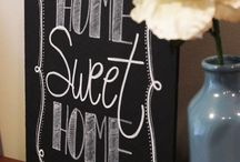 Chalkboard Signs / by Holly Ransome