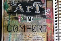 Art-Sketchbooks/Journaling / by Holly Ransome