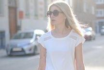 #JfaisPasSansBlanc / De la taille 36 au 56, les blogueuses mode avaient carte blanche pour composer un look adapté à leur morpho à partir d'une petite robe blanche Kiabi