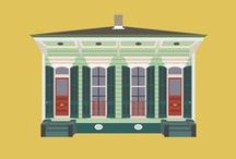 Buildings of New Orleans / Buildings of New Orleans by Little Histories