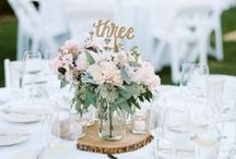 Wedding Centerpieces / Here are some fun ideas for decorating your reception tables!