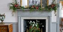 Christmas In Charleston / Deck your halls with inspiration from Charleston, South Carolina. You'll find historical, natural and coastal  touches here.