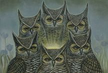 Owls / Wise old owl / by Brenda Booker