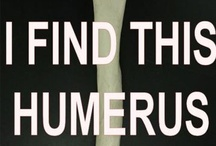 I Find This Humerus / by Paige Dubberly Smith