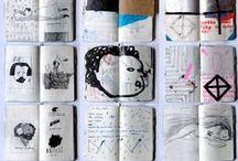 Art / Sketch Books + Journals / by Jesska Jones