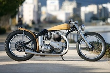Triumph Motorcycles / by Pipeburn