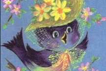 Beautiful Bluebirds / by Roxann Bookas