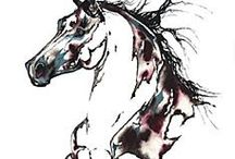 Horse art 3 / by Emily Williams