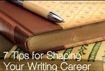 Writing! / Helpful hints for writing. / by Rachel Jackson