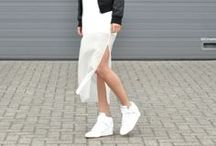 On the streets...White Sneakers