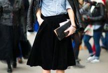 SS2015 Inspiration...Midi Skirts
