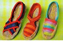sapatos de croche / by vera Doki