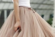 On the streets...tulle skirts