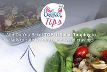 Do You Bake? Tips / Tips Tips and more tips!! We have Kitchen Tips, Baking Tips, Cooking Tips, Time & Money Saving Tips and delicious healthy swap ideas!