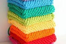 Knitting and Crochet / by Jennifer 'Brown' Moss