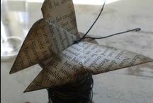 Origami/Paper Crafts / by Nancy Farnie