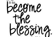 Blessings & Prayers / by Elizabeth Sabroso
