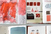 Sketchbooks + artistic inspiration / I'm continuously filling several sketchbooks at all times, and I'm a big proponent of the art and practice of keeping a sketchbook. Here are some glimpses into the inspirational books kept by many artists.
