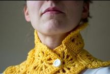 //Crochet// / You just never know when you're gonna have to crank out a scarf... / by Lindsey McClellan